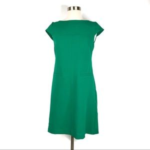 Vince Camuto Green Sheath Dress Size 6